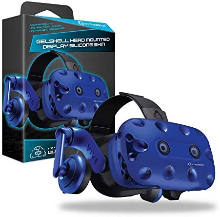 Hyperkin GelShell Headset Silicone Skin for HTC Vive Pro Blue product image