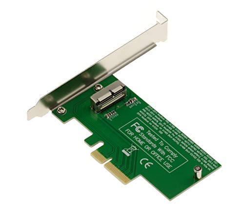 Kalea-Informatique PCIe Kontrollkarte für SSD Mac 2013 2014 2015 2016 2017 2018 mit 12+16 Pin (MD711 MD712 MD760 MD761 ME864 ME865 ME866 ME293 ME294 ME874 etc.). PCIe 4 x