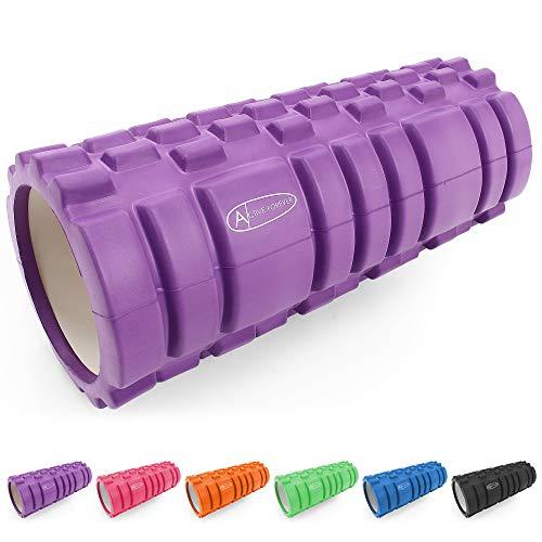 ActiveForever STRONG Foam Roller - Yoga Block Fitness Equipment Pilates...