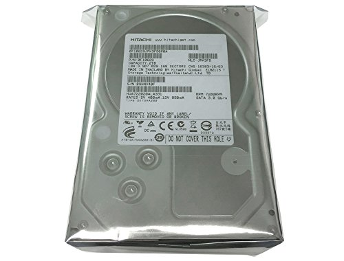 Hitachi Ultrastar A7K2000 2TB (0F10629) 2TB 32MB Cache 7200RPM SATA 3.0Gb/s Enterprise 3.5in Hard Drive (For PC, Mac, CCTV DVR, RAID, NAS) - [Renewed] w/ 1 Year Warranty