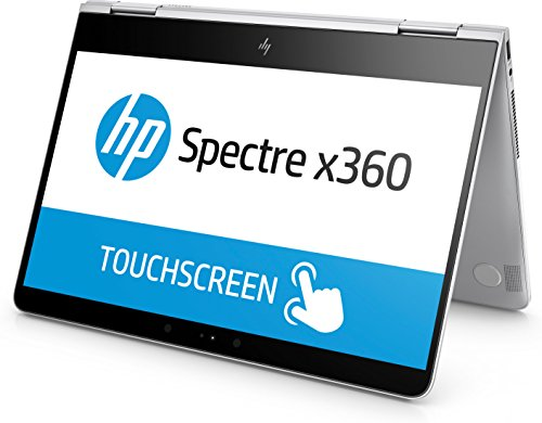 HP Spectre x360 (13-ac002ng) 33,8 cm (13,3 Zoll / Full HD Touchscreen) Convertible Ultrabook (2in1 Laptop mit Intel Core i7-7500U, 16 GB RAM, 1 TB SSD, Intel HD-Grafik, Windows 10 Home 64) silber