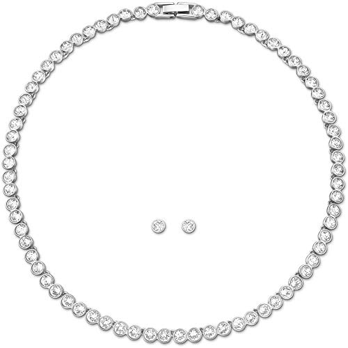 Swarovski -Schmuck-Sets Edelstahl Kristall 5007747