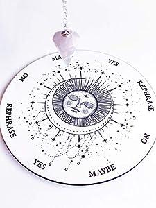 Sleeping Moon Pendulum Board