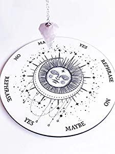 Sleeping Moon Pendulum Board