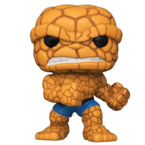 C S POP x Fantastic Four! The Thing/Ben Grimm Figure Comic Collectible Statues Bobbleheads Bust Figure - 3.9inch image