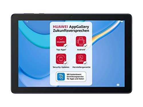 HUAWEI MatePad T 10 WiFi Tablet PC,  9.7 HD Wide Open View,  Octa Core,  eBook Modus,  Dual Speaker,  Android 10,  2GB RAM,  16GB ROM,  EMUI 10.1,  sin Google Play Store,  Deepsea Blue