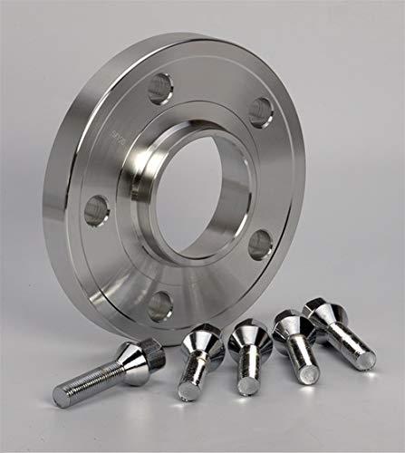 NO LOGO 2 Piezas de 10 mm de 12 mm de un Separador de Rueda Juego for Coches Audi Kit 5x100 5x112 Y 57.1 Allroad / A3 / A4 / A6 / S6 / RS4 / S8 / TT / 90/200 / 5000Turbo / Quattro (tamaño : 12mm)