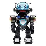 JUGUETRÓNICA-Robot Interactivo con Control por Voz, Colores Surtidos (Negro o Plata) JUG0178