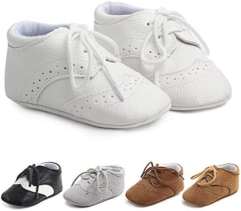 Methee Infant Baby Boys Girls Walking Shoes Soft Sole Non Slip First Walker Shoes Newborn Crib product image
