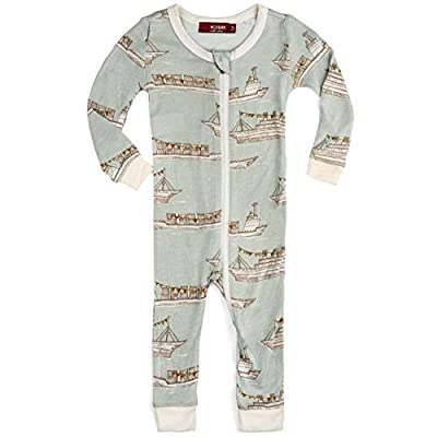Bamboo Zipper Pajama Boys 18-24M