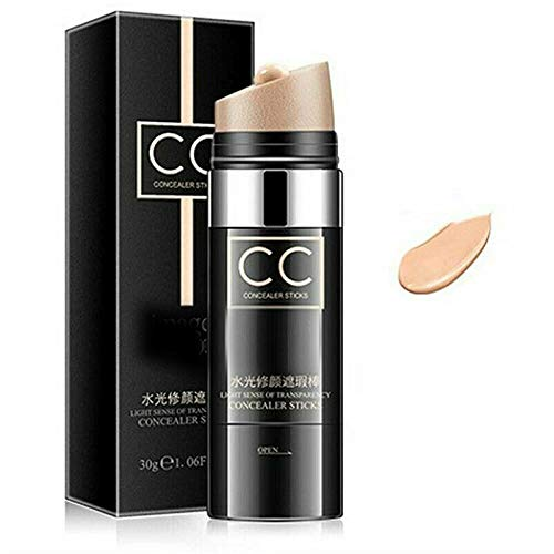 Twist and Blend Anti-aging Concealer Stick, Colors Cover Up Pro Concealer Stick, Air Cushion CC Cream Natural, Moisturizing Waterproof Concealer Stick, Full Coverage Foundation Stick Makeup
