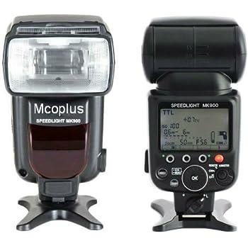 Speedlite MK900 - Flash para Nikon Cámara réflex: Amazon.es ...