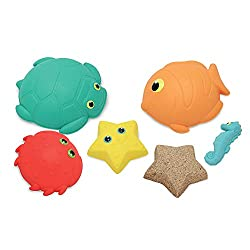 Image: Melissa and Doug Sunny Patch Seaside Sidekicks Sand-Molding Set