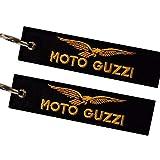 Moto Guzzi Llavero Doble Cara (1 Pieza)