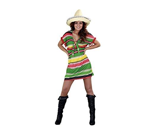 Déguisement de Méxicaine robe courte pour Femme