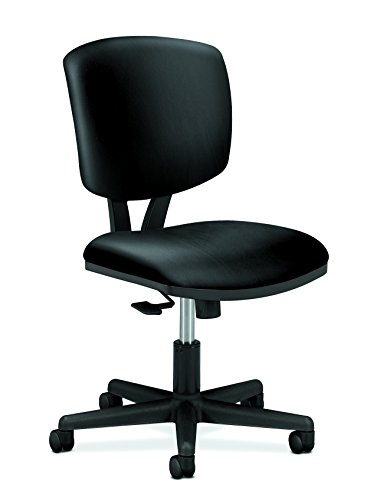 HON SB11.T HON5703SB11T Volt Leather Task Computer Chair for Office Desk, Black (H5703),...
