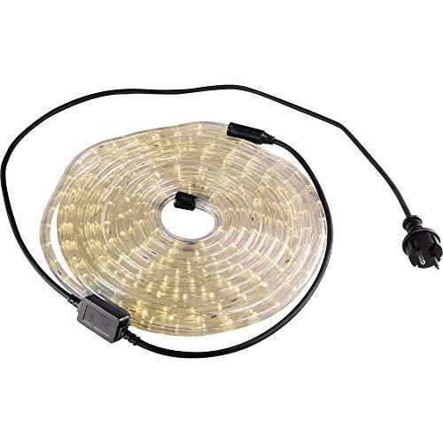 GEV 10697 LED Lichtschlauch, warmweiß, 6m + 1,5m Anschlusskabel
