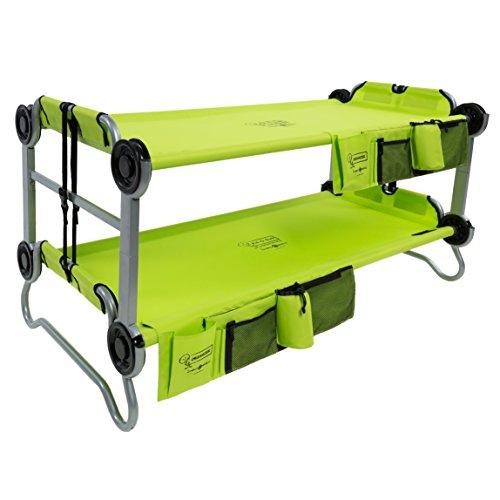 Kid-O-Bunk Kinder Tragbare Mobile Camping Bett M lindgrün