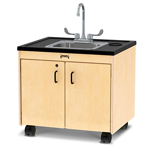 Jonti-Craft 1371JC Clean Hands Helper, 26' Counter with Stainless Steel Sink