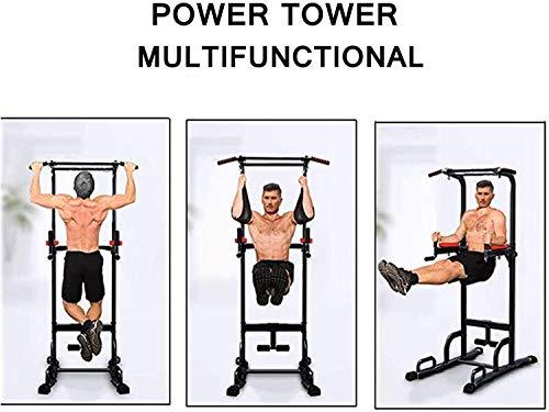 Xn8 Station de Musculation réglable avec Barre de Traction pour abdominaux et Genoux Argenté