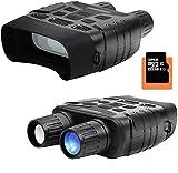 Tarnel Televisore digitale HD per visione notturna binocolo a infrarossi impermeabile fotocamera e videocamera con distanza di rilevamento di 400m TFT LCD da 2,3 pollici con scheda di memoria 32G