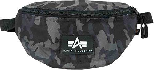 Alpha Industries Rubber Print heuptas Eén maat Zwart camouflage.