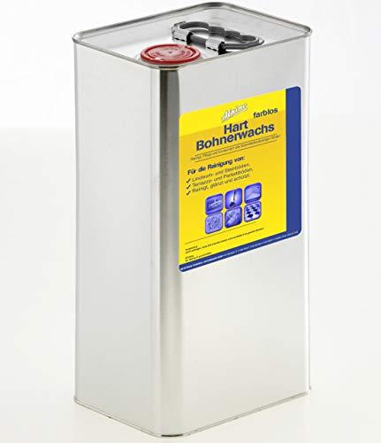 5 Liter Hart-Bohnerwachs farblos (8,30€/L)