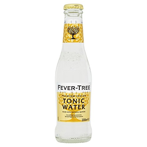 Fever-Tree Premium Indian Tonic Water 200ml (Packung mit 24 x 200 ml)