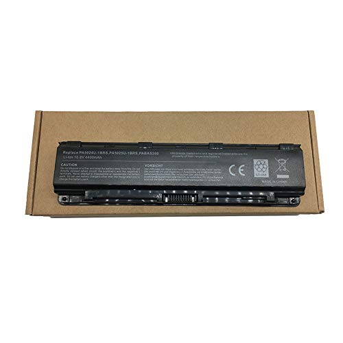 Batería Repuesto para Toshiba PA5023U-1BRS, PA5024U-1BRS, PA5025U-1BRS, PA5026U-1BRS, PABAS259, PABAS260, PABAS261, PABAS262, Satellite L850 Series,6cells 4400 mAh 10.8V 48WH