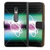 DeinDesign Étui Compatible avec Motorola Moto X Play Étui Folio Étui magnétique Cosmos Space...