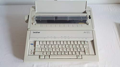 Brother AX-120 elektrische Schreibmaschine mit Typenrad und Korrektur