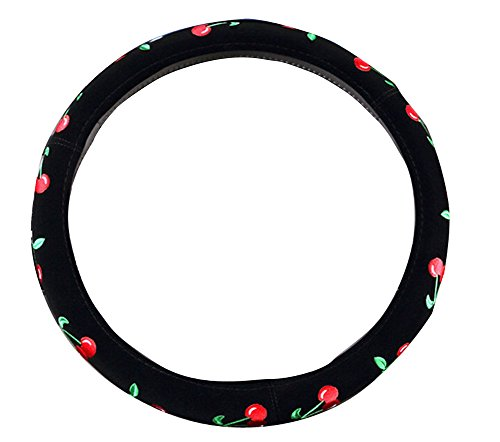 Mayco Bell 2016 Automotive Women Embroidery Cute Car Steering Wheel Cover...