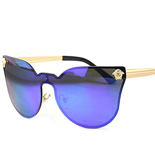 Bertha High Pointed Vintage Mod Womens Fashion Cat Eye Sunglasses 844 Gold...