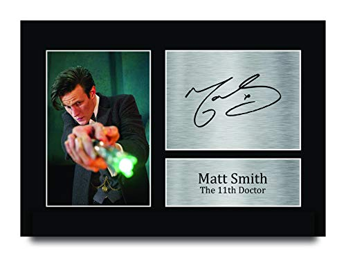 HWC Trading Matt Smith A4 Ungerahmt Signiert Gedruckt Autogramme Bild Druck-Fotoanzeige Geschenk Für Dr Who Tv-Show-Fans