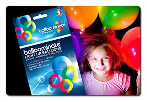 Leuchtballons 15er-Set BALLOOMINATE multi mit LEDs