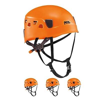 PETZL Panga Orange Climbing Helmet for Group and Club Use 4 Pack