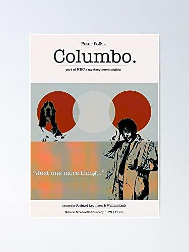AZSTEEL Póster de Columbo con Peter Falk, 29,7 x 41,9 cm para amigos y familia