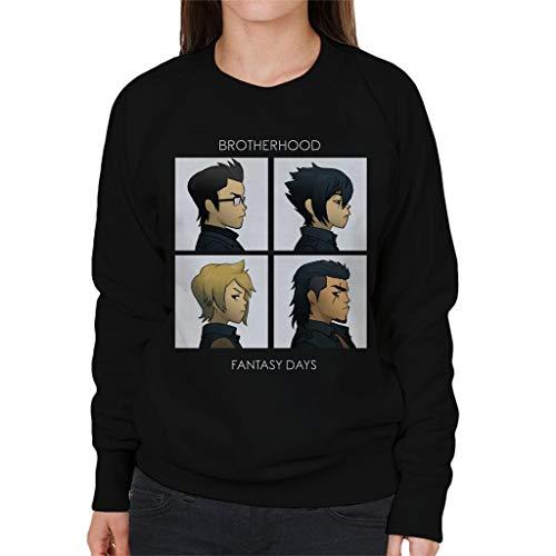 Cloud City 7 Final Fantasy Brotherhood Days Women's Sweatshirt
