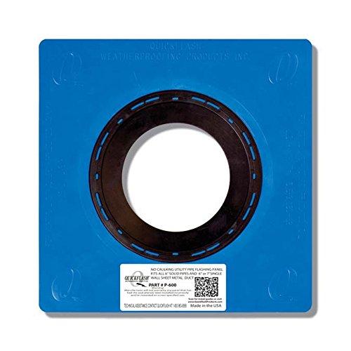 Quickflash Plumbing Flashing Panel -P-600