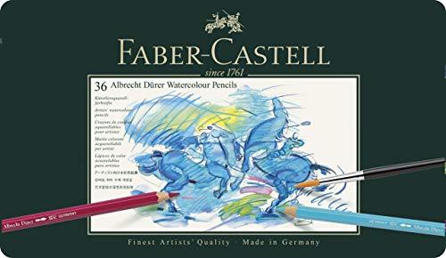 Faber-Castell 117536 - Aquarellstifte Albrecht Dürer, 36er Metalletui