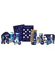 Nivea Men'S Adventskalender 2020 Voor 24 Unieke Verwenmomenten, Kerstkalender Met Geselecteerde Verzorgingsproducten En Accessoires, Verzorgingsset Voor De Adventstijd