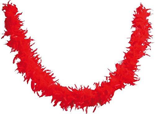 P'TIT CLOWN 21602 Boa 1,8 m- 50 g - Rouge