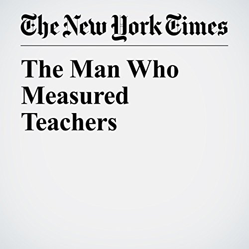 The Man Who Measured Teachers copertina