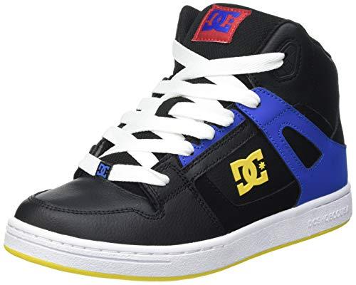 DC Shoes Pure High-Top-für Jungen, Zapatillas, Negro, 35 EU