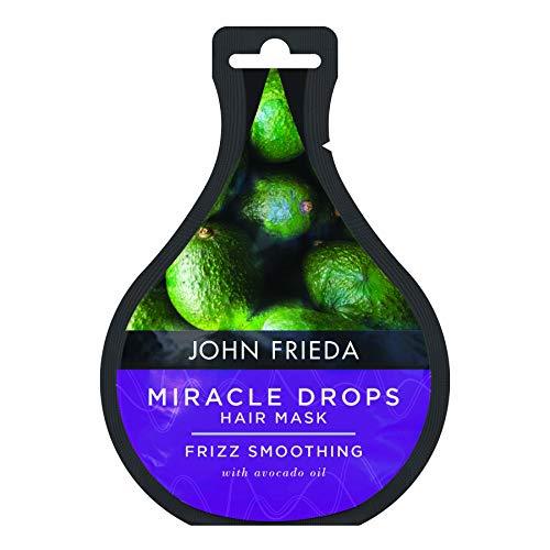 John Frieda Miracle Drops Frizz Suavizante Máscara para el cabello encrespado, 25 ml