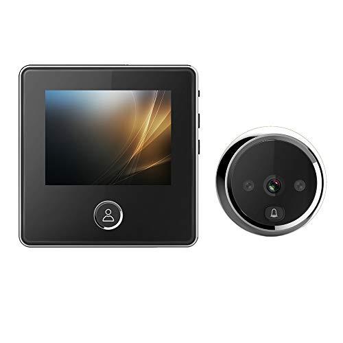 ILS - 3-Zoll-LCD-1MP 720P Guckloch IR-Kamera 180 Tage Standby-Zeit Video-Türklingel mit internem Speicher