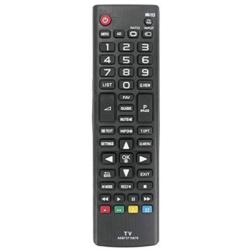 ALLIMITY AKB75095308 Sub AKB73715679 Control Remoto reemplazado por LG TV 32LJ610V 43UJ634V 55UJ634V 49UJ6309 60UJ6309...