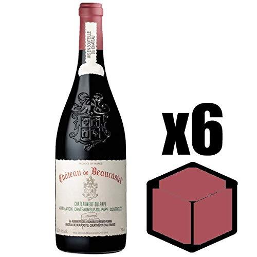 X6 Côtes du Rhône Coudoulet de Beaucastel 2001 75 cl Château Beaucastel AOC Côtes du Rhône Vino Tinto