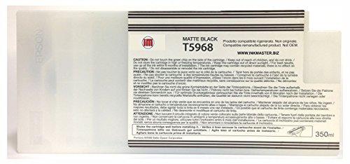 Ink Master - Cartucho remanufacturado EPSON T5968 Matte Black para Epson Stylus Pro 7700 7890 7900 9700 9890 9900
