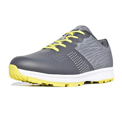 Thestron Herren Golfschuhe Walking Sneakers Training Sport Golfschuh …, Grn (grün), 42 EU